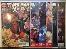 Spider-Man and the X-Men #1-6 Set VF/NM 1st Print Marvel Comics