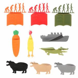 3D Stereo Animal Kawaii Lovely Bookmark Cartoon Wacky Bookmark More Fun Reading