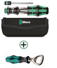 Wera 05051016001 Schraubendreher Kraftform Kompakt 20 mit Tasche +Flaschenöffner