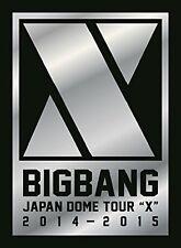 Bigbang Japón cúpula Tour 2014-2015 'X' Primera Edición Limitada DVD con nº de seguimiento nuevo