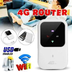 Wireless Router Tragbare 4G LTE Mobiles Breitband WLAN WIFI Hotspot SIM Modem DE