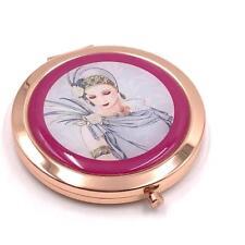 Elegant Charleston Range Lady Rose Gold Compact Mirror Gift For Her SP1875