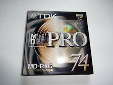 MINIDISC - MINI DISC TDK  PRO 74 - MD RXG