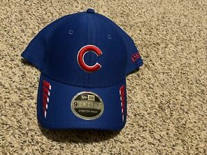 New Era Cap Chicago Cubs 9Forty stretch-snap Hat Blue/Red Rush Snapback