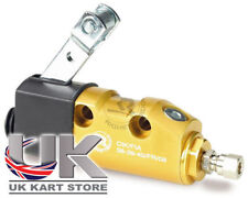 Italian Complete Brake Master Cylinder / Pump Gold Anodised UK KART STORE
