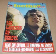 FOOTBALL MAGAZINE #167 1973 BERETA LENS GRAVA METZ RED STAR CHIESA MAGNUSSON