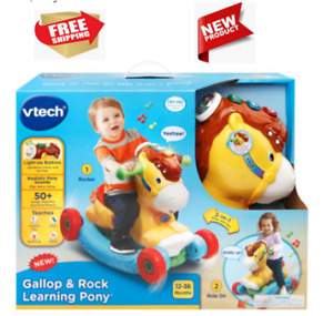 Interactive Baby Musical Toy with VTech Rock and Ride Unicorn Baby Ride On Toy