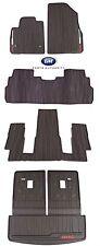 17-18 GMC Acadia Premium All Weather Complete Floor Mat & Cargo Area Pkg Cocoa