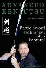 Advanced Battlefield Kenjutsu Sword Fighting Katana Samurai Dvd