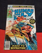 Human Fly # 2 Ghost Rider Appearance, 2Nd Appearance Of Human Fly Oct1977 Marvel