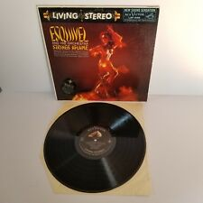 ESQUIVEL Strings Aflame LP Living Stereo EXOTICA Easy Listening 1959 Cheesecake