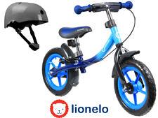 """First Bike Running Balance Bike Blue 12"""" for children + helmet NEW Orginal Box"""