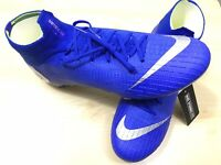 Nike Mercurial Superfly 6 Elite FG 360 AH7365-400 Soccer Cleat Sz 7.5 Blue