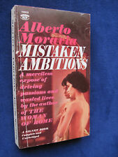 MISTAKEN AMBITIONS - SIGNED by ALBERTO MORAVIA to His Publisher KURT ENOCH