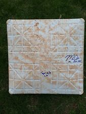 """MIKE TROUT SIGNED  INSCRIBED STOLEN BASE """"YOUNGEST 30/40"""" 2012 AL ROY -MLB HOLO"""