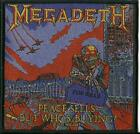MEGADETH peace sells but who's buying 2020 WOVEN SEW ON PATCH official merch
