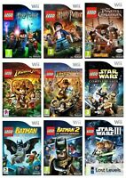 Wii - Lego - Same Day Dispatched - Choose Your Game - VGC