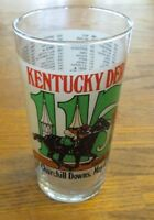 Kentucky Derby 115 Commemorative Glass 1989