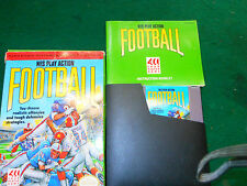 Play Action Football Nes Game instructions clean .L@K!