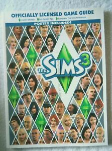 62358 The Sims 3 Prima Official Game Guide + Poster