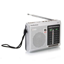 New MPR-9 6 Band FM/AM Portable Digital Radio Up to 16GB Gray