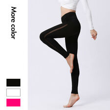 Women's Stretch High Rise Yoga Leggings Quick Dry Skinny Fitness Pants Size S~XL