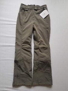 Poivre blanc Pantalon de Ski Femmes Kaki/Gris Taille M Nouveau Neuf