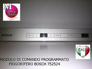 Scheda di comando Program. Frigorifero Bosch Siemens 00752524  00657458 12004523