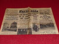 [PRESSE WW2 AVANT GUERRE] PARIS-SOIR #4337 19 AOUT 1935