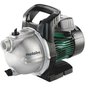 Metabo Gartenpumpe P 4000 G Wasserpumpe Saugpumpe Auspumpen klares Wasser