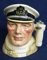 Royal Doulton small character jug THE SAILOR D6875 produced 1991-1996