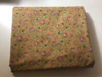Prewashed 1 3/4yd Orange And Pink Floral Cinnamon Girl Robyn Pandolph SSI