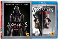 Assassin's Creed (2017, Blu-ray) Slip Case Limited Edition / 2D + 3D Combo
