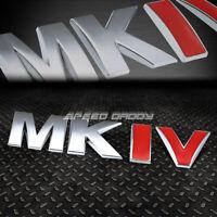 FOR VW MK IV GOLF/JETTA METAL BUMPER TRUNK GRILL EMBLEM DECAL BADGE CHROME RED