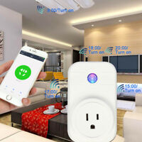 WiFi Smart Plug Socket Switch Outlet For Amazon Alexa Google Home Echo Remote US