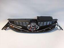 Hyundai Elantra Coupe 2013-2014 Upper Grille Radiator Front Bumper OEM