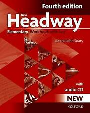 Oxford new headway elementary fourth edition workbook with key & cd audio @NEW @