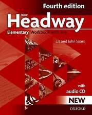 Oxford NEW HEADWAY Elementary FOURTH EDITION Workbook with Key & Audio CD @NEW@