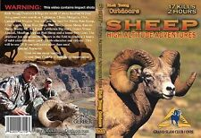 SHEEP - High Altitude Adventures DVD Rocky Mountain Bighorn Dall Stone Desert