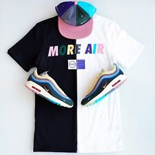 Nike x Sean Wotherspoon More Air Tee Black White Short Long Sleeve - Size XS-XL