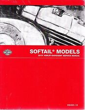2010 Harley Softail FLS FXC Repair Service Workshop Shop Manual Book 99482-10