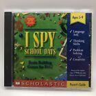 I Spy - School Days - Hidden Object Puzzle Windows Pc Macintosh Cd Computer Game