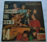 20 SUCCESSI DEL SECOLO N. 14 LP VARIOUS 33 GIRI VINYL ITALY TIGER A.S. 14 NM/EX