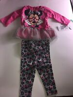 Disney Baby Girls' Minnie Mouse Legging Set with Tulle 3/6 Months, Retail $30.00