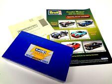 Revell Creative Masters Die Cast Sales Sheet Product Video Corvette Camaro Cobra