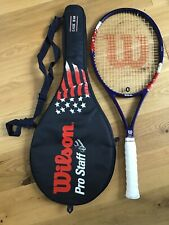Wilson ProStaff Tour Classic 95 Stars and Stripes Tennis Racket Grip3. Amazing!