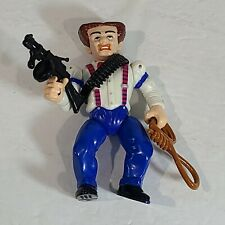 "1990 Dick Tracy Coppers & Gangsters 4.5"" Flattop Figure Complete Playmates Toys"