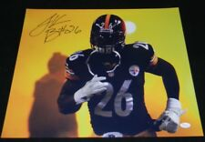 LE'VEON BELL SIGNED AUTOGRAPHED PITTSBURGH STEELERS 16x20 PHOTO JSA