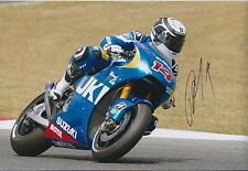 Randy De Puniet Autograph ASPAR Racing APRILIA SIGNED 12x8 Photo AFTAL COA ELF