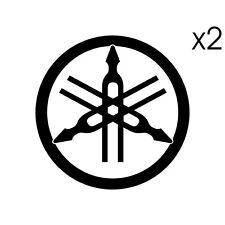 Stickers DIAPASON Yamaha logo - MT07 MT09 Tracer YZF Tmax XT - 6cm x 6cm